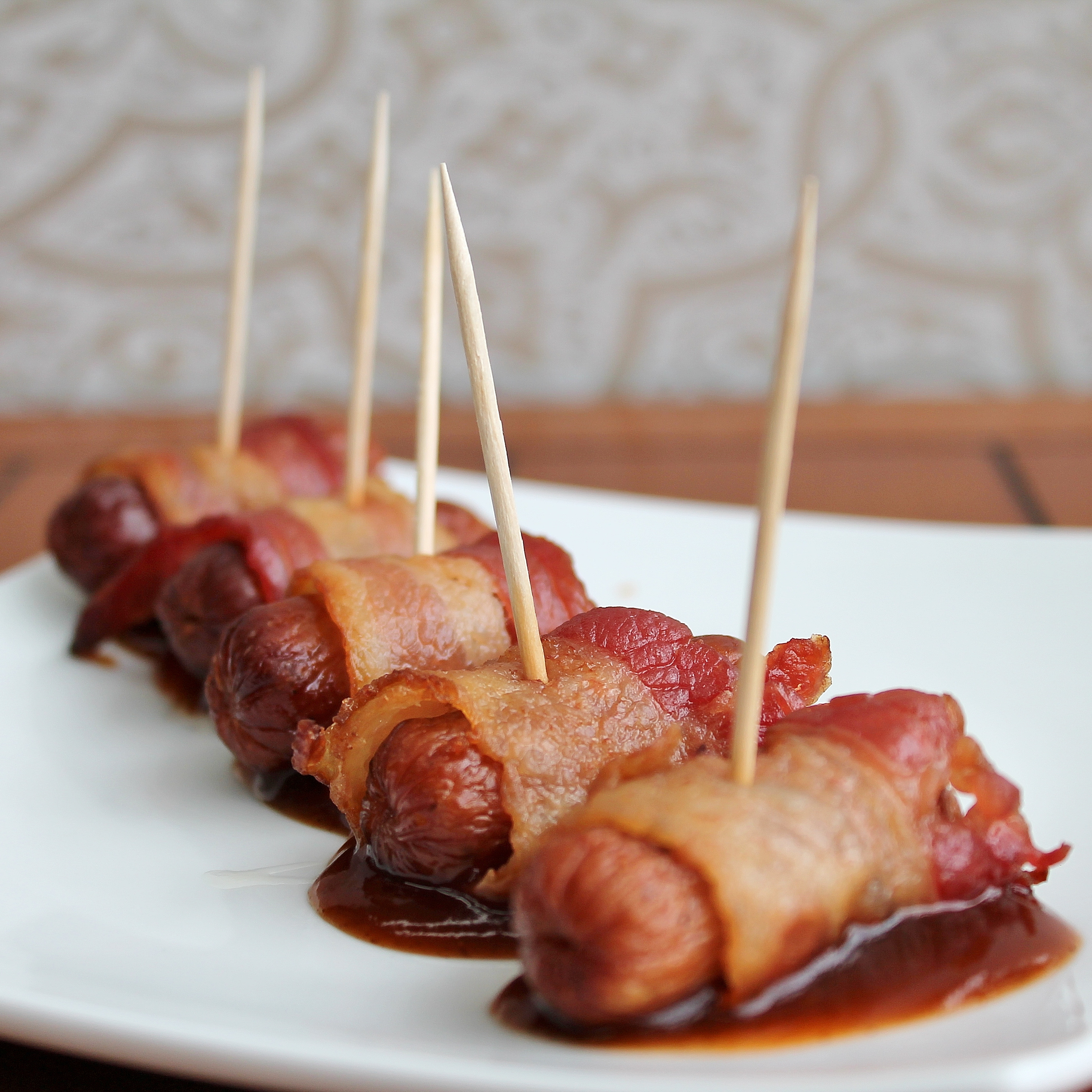 Kransky Sausage Wrapped In Bacon Swiss Deli Recipe