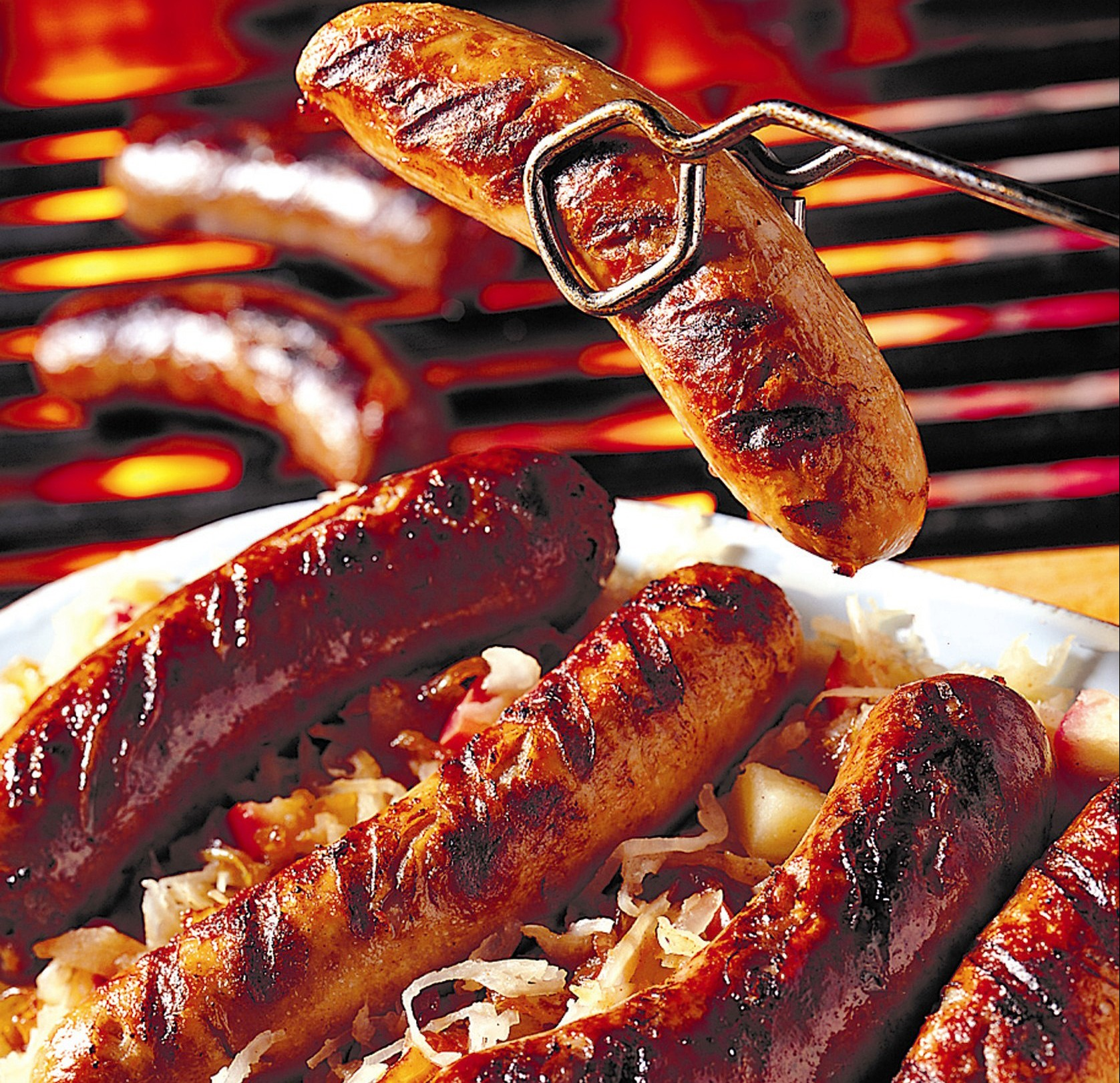 Fantastic Bratwurst Recipe - perfect for Oktoberfest celebrations.