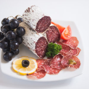 Swiss Deli Italian Salami is a mild-flavoured naturally matured salami prepared using a unique blend of spices including garlic, pepper and white wine.